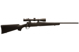 Great bolt action package at a good price. Pretty accurate and a wonderful way to get into varmint hunting without breaking the bank.